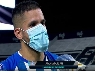 """Juan Aguilar: """"Sabíamos que se podía presentar un partido así"""""""