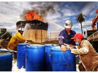 Petropar aún no sabe cuánto será resarcido por siniestro