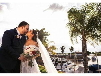 El enlace matrimonial de Ivana y Roberto