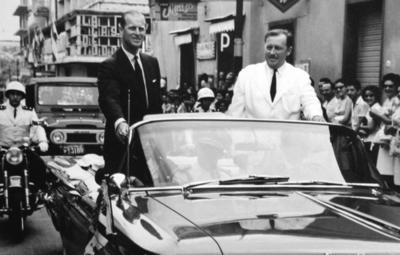 Memorias de la visita del Príncipe Felipe a Paraguay