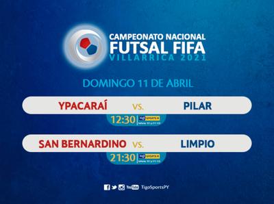 Dos juegos por la tercera fecha del Nacional de futsal FIFA