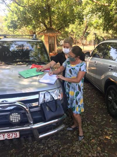 Identifican en Paraguay casi 100 vehículos robados en Brasil