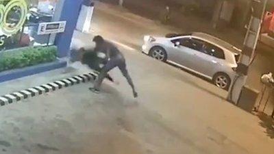 (Video) La mujer que salvó de milagro  la vida y que gracias a este video el agresor puede ligar pena máxima