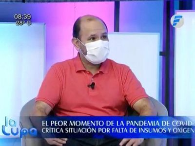 Consumo de oxígeno en hospitales públicos llega a 28 toneladas por día