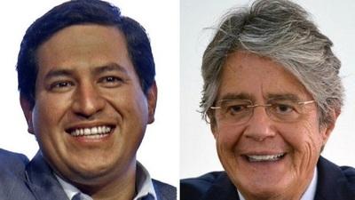 Los candidatos Andrés Arauz y Guillermo Lasso se enfrentan en la segunda vuelta de las elecciones en Ecuador
