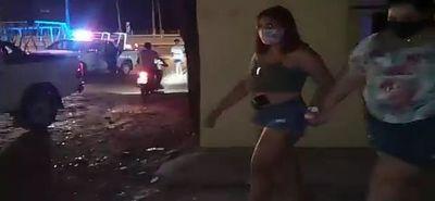 Policía interviene fiesta clandestina en Capiatá