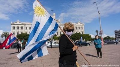 Récord de muertes por coronavirus en Uruguay