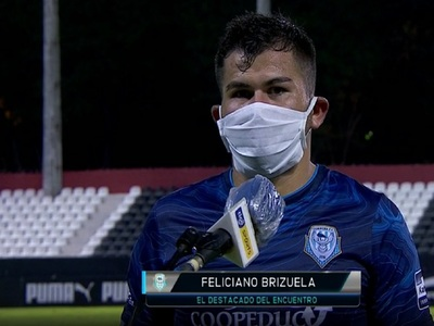"""Feliciano Brizuela: """"Regalamos el primer tiempo"""""""