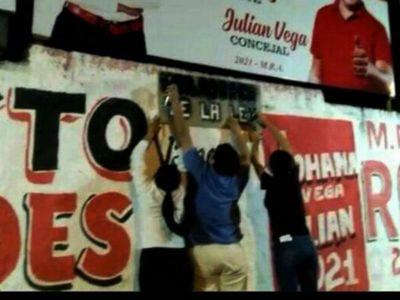 Ciudadanos declaran  guerra a la cartelería electoral extemporánea