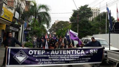 Docentes de la OTEP solicitarán al MEC la suspensión temporal de las clases presenciales