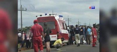 Ciclista fallece al ser embestido por una camioneta