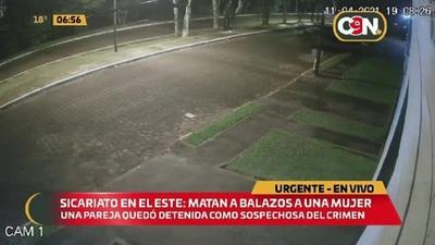 Sicariato en el Este: Asesinan a balazos a una mujer