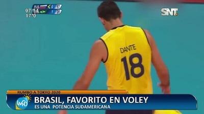 Rumbo a Tokyo 2020: Selección de Brasil, favorito en Volley