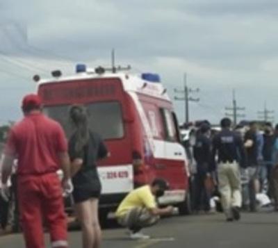 Villarrica: Ciclista fallece arrollado