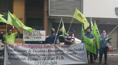 Docentes de la OTEP piden suspender clases presenciales para evitar más contagios