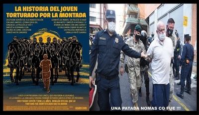 LA LEY DEL TALIÓN ENTRE POLICIAS Y COMUNES, ES LO QUE OCURRIÓ