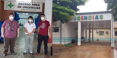 CAMAS PARA TERAPIA INTENSIVA PARA EL HOSPITAL DE CNEL BOGADO.