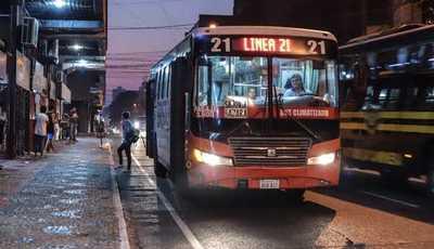 Casi 600 buses que cubren zona de Asunción no funcionan