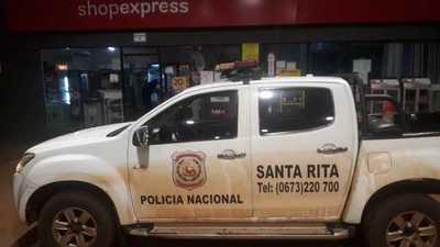 Asaltan a empleado de surtidor de Santa Rita