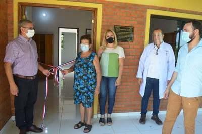 Villarrica: Inauguran Puesto de Salud en San Francisco Potrero
