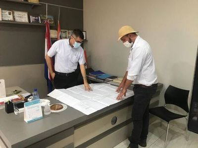 Gobernador Acevedo hace campaña política a favor de un candidato colorado