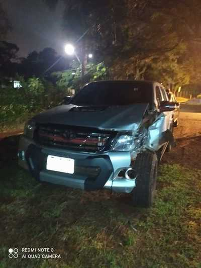 """Firulais"" provoca accidente en el Paraná Country Club"