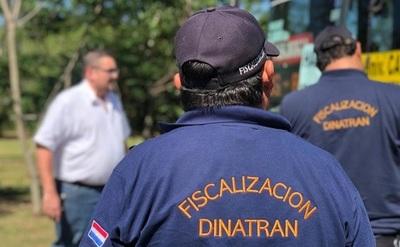 Control de documentaciones y cumplimiento del protocolo sanitario, realiza la Dinatran