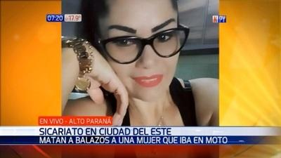 Mujer es víctima de sicarios en Ciudad del Este