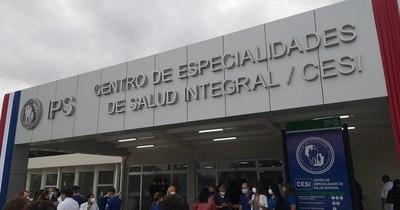 La Nación / Salud mental, medicina física y rehabilitación: especialidades del nuevo pabellón de IPS