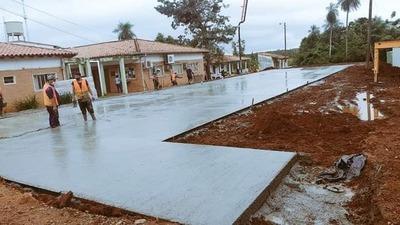 Avanza la construcción del pabellón de contingencia del Hospital de Caazapá