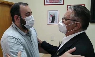 Alejo Ríos visitó a Eladio y pidió coordinar trabajos – Prensa 5