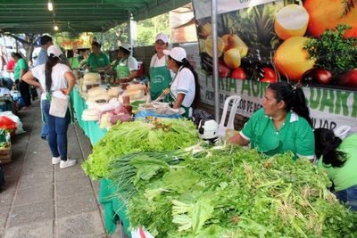 Se viene otra feria de productos de agricultura familiar en San Lorenzo