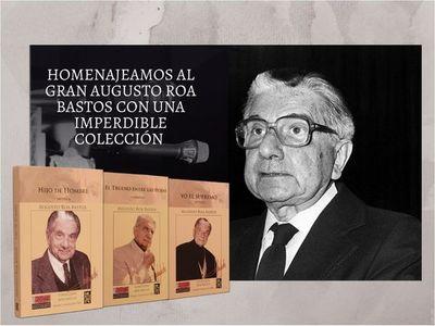 Grandes obras de Roa Bastos llegan a Colecciones ÚH