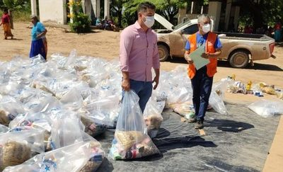 Realizan operativo de ayuda humanitaria en comunidades indígenas del Chaco
