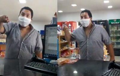 """Sos una muerta de hambre"": Se viraliza indignante maltrato"