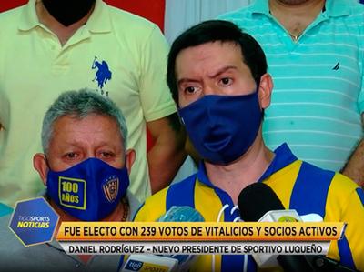 Daniel Rodríguez especifica las acciones que llevará a cabo en Luqueño
