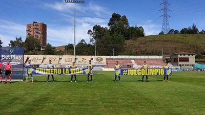 Escándalo en el fútbol colombiano porque un equipo se vio obligado a jugar con solo 7 jugadores