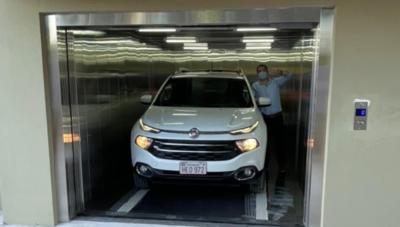 Ascensores para vehículos: una empresa paraguaya los fabrica y aumenta la demanda para proyectos inmobiliarios