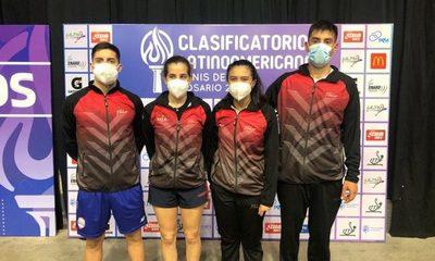 Representantes del tenis de mesa buscarán su boleto a Tokio
