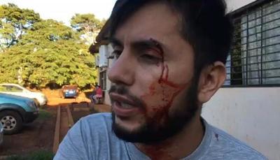 Conocido doctor agrede a Aldo Barrios