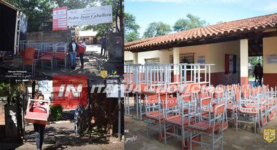 GOBERNACIÓN EQUIPA CON MOBILIARIOS LAS INSTITUCIONES EDUCATIVAS DE SAN JUAN DEL PNÁ