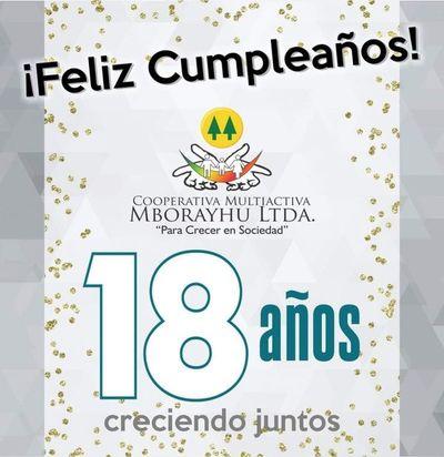 Cooperativa Multiactiva Mborayhú Ltda. , 18 años creciendo en sociedad