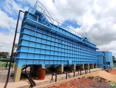 Planta potabilizadora de la Essap beneficiará a 12.000 limpeños •