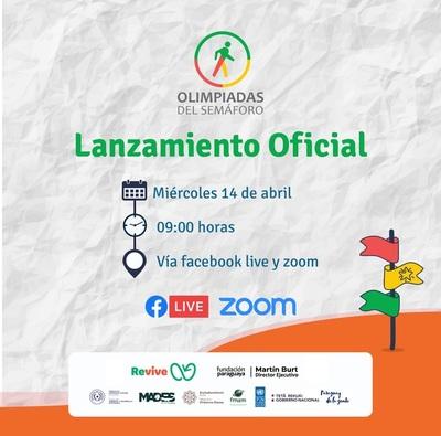 Fundación Paraguaya organiza sus tradicionales 'Olimpiadas del Semáforo'