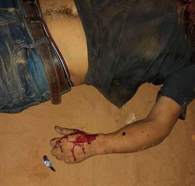 Hallan cadáver con cinco impactos de bala en Cápitan Bado