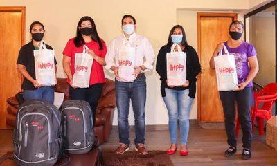 Innovador sistema de aprendizaje internacional para 30 familias de Paraguari