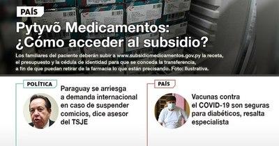 La Nación / LN PM: Las noticias más relevantes de la siesta del 13 de abril