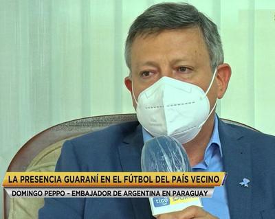 Peppo recuerda los paraguayos del fútbol argentino