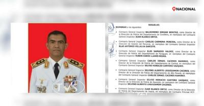CAMBIO DE DIRECTOR AL FRENTE DE LA POLICIA NACIONAL EN ITAPÚA
