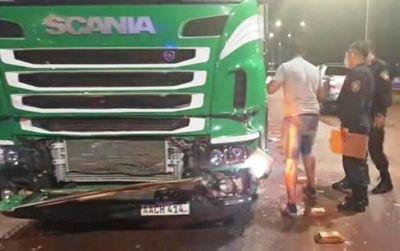 Jefe policial dio positivo al alcotest tras ocasionar un accidente